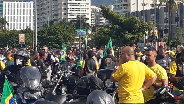 Motociata de Jair Bolsonaro, no Rio de Janeiro