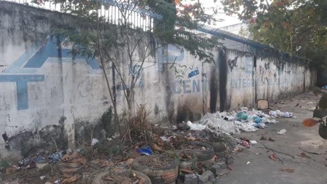 Na imagem, situação do antigo prédio da APAE