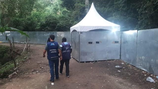 Prefeitura interrompe festa clandestina com mais de 5 mil pessoas na Zona Oeste do Rio (Divulgação: SEOP)