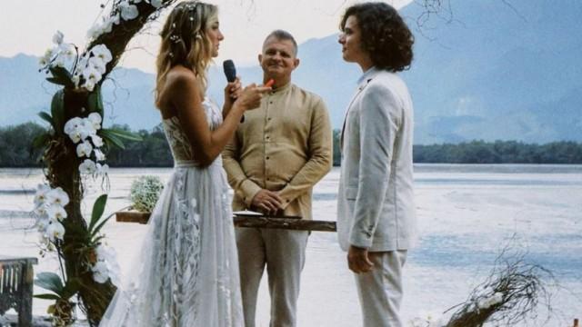 Casamento de Sasha Meneghel