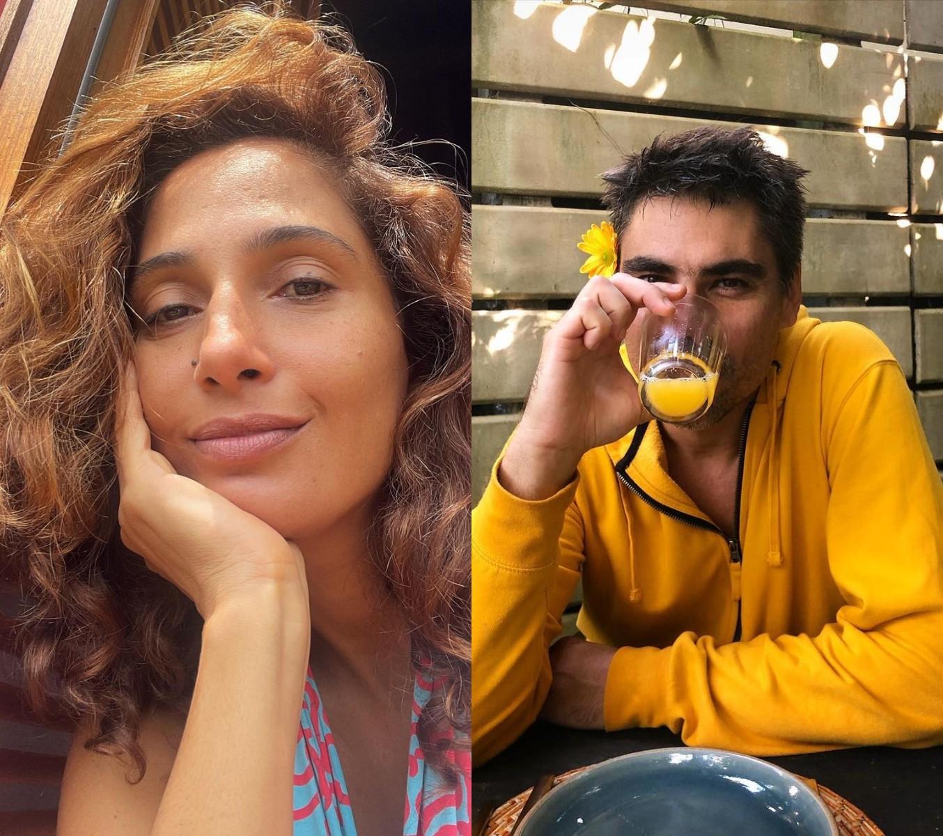 Camila Pitanga e o namorado Patrick Pessoa