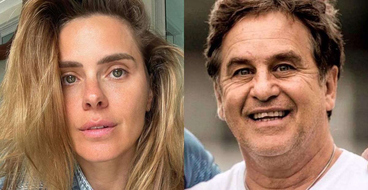 Carol Dieckmann e Marcos Frota