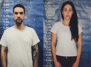 Jairinho e Monique Medeiros na prisão