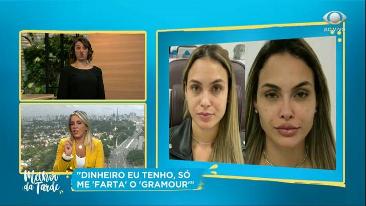 'Daqui a pouco tá com cara de boneca inflável', dispara Cátia Fonseca sobre Sarah Andrade