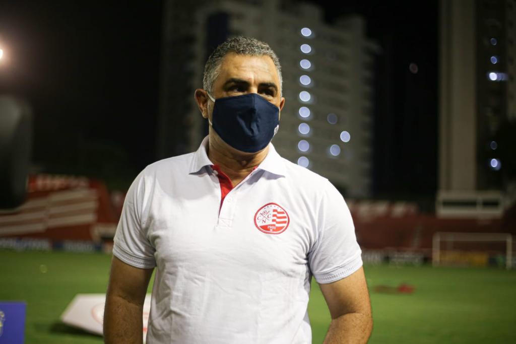 Marcelo Chamusca não é mais o técnico do Náutico