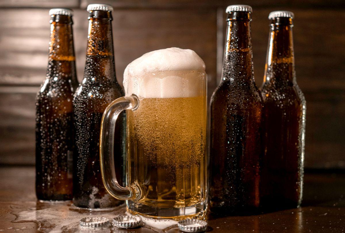 chopp e cerveja