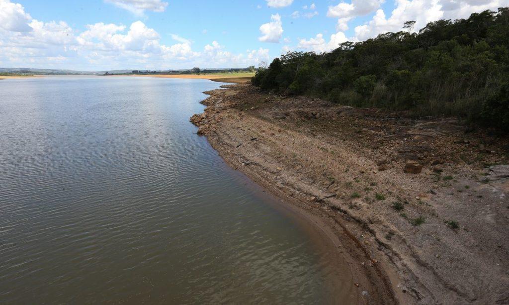 Imagens da crise hídrica