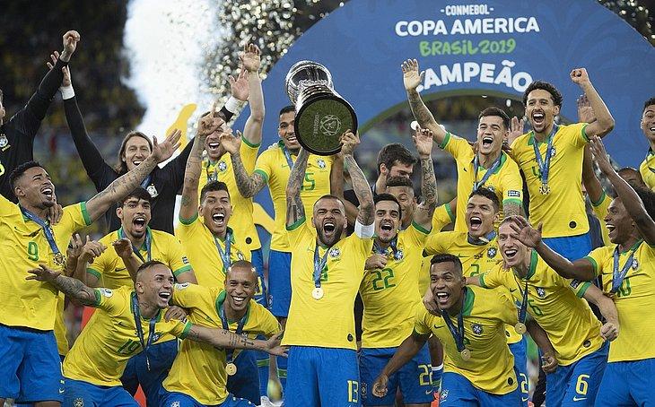 Brasil é o atual campeão da Copa América