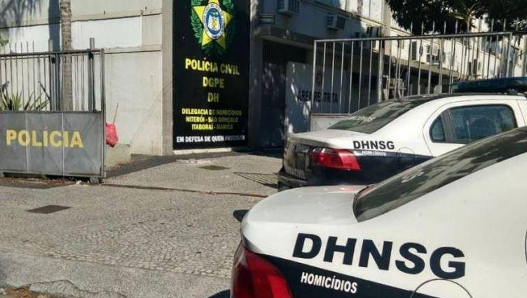 Portaria da Delegacia de Homicídios de Niterói