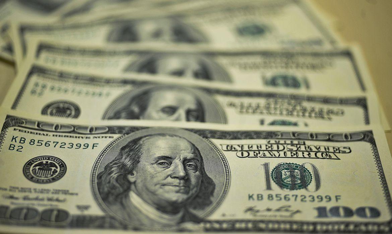 Imagem de notas de dólar