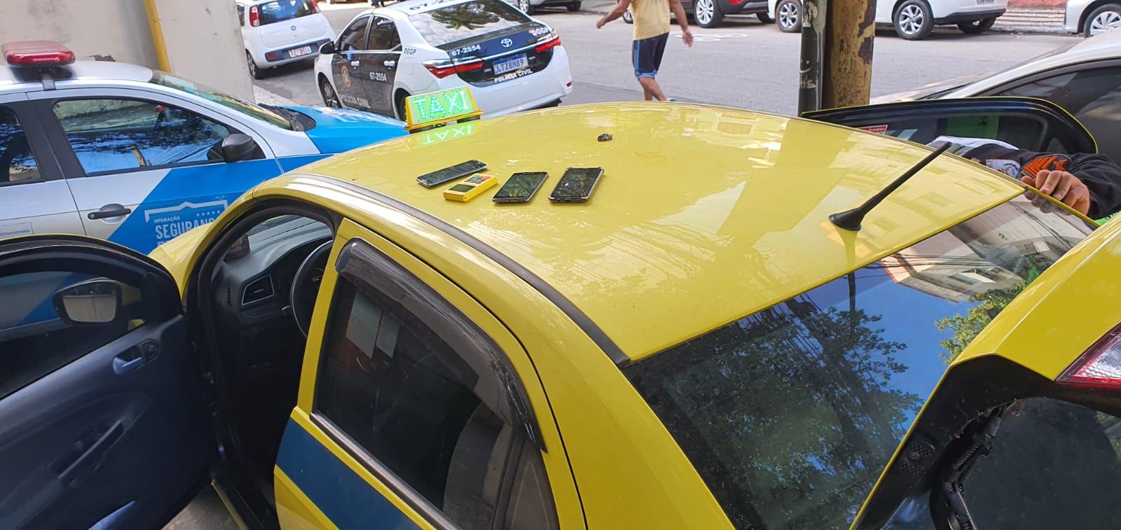 Taxista preso