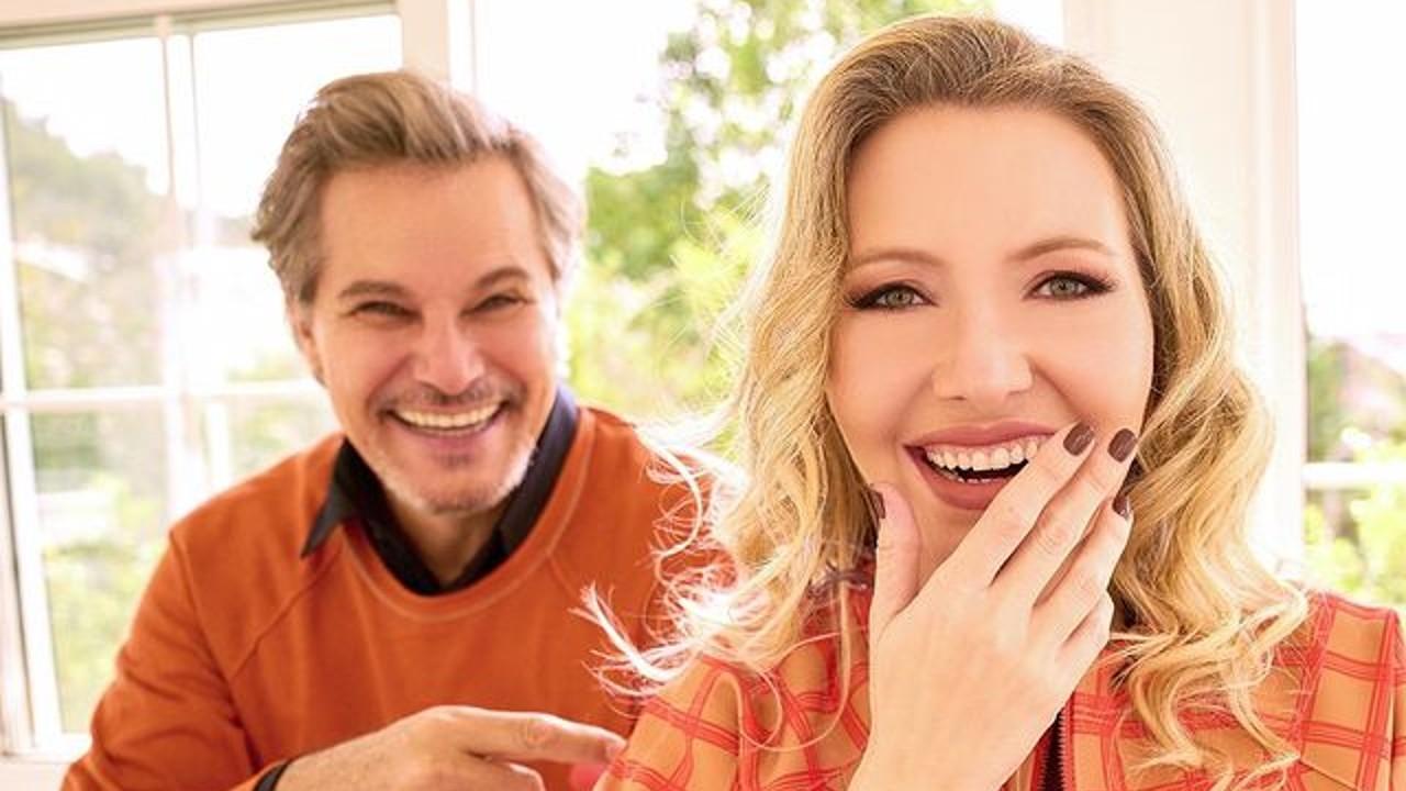 Edson Celulari e a esposa Karin Roepke