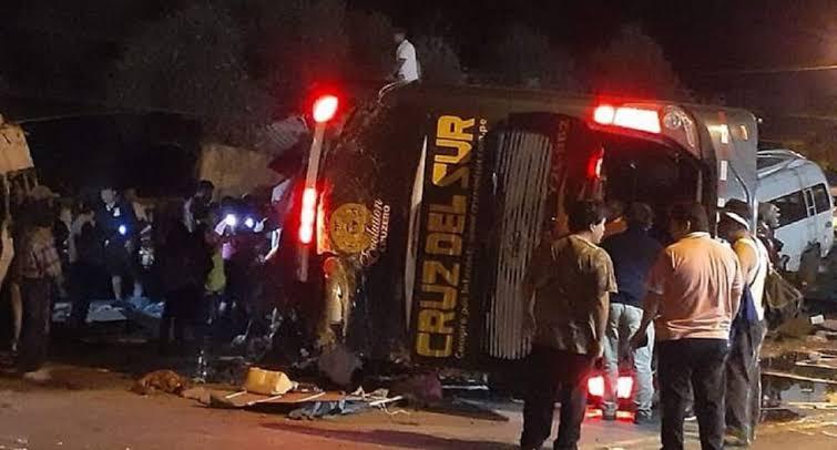 Acidente de deixa mais de 30 feridos no Peru