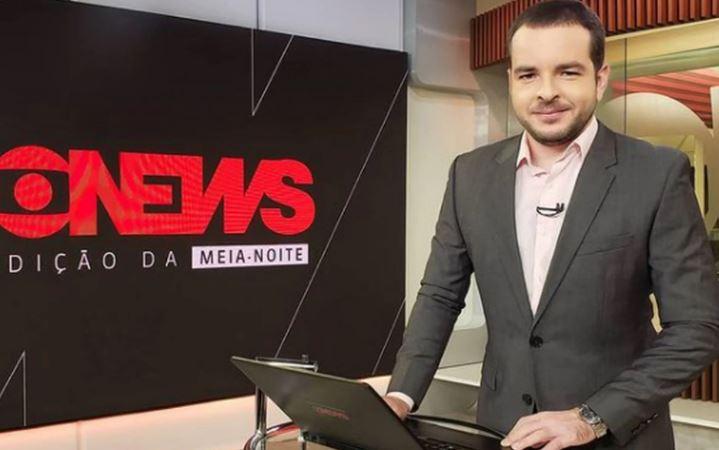 Erick Bang, jornalista da TV Globo
