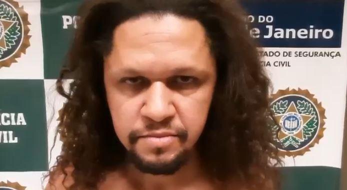 Robério de Oliveira Pereira, de 35 anos, preso por estuprar crianças no morro Dona Marta, em Botafogo