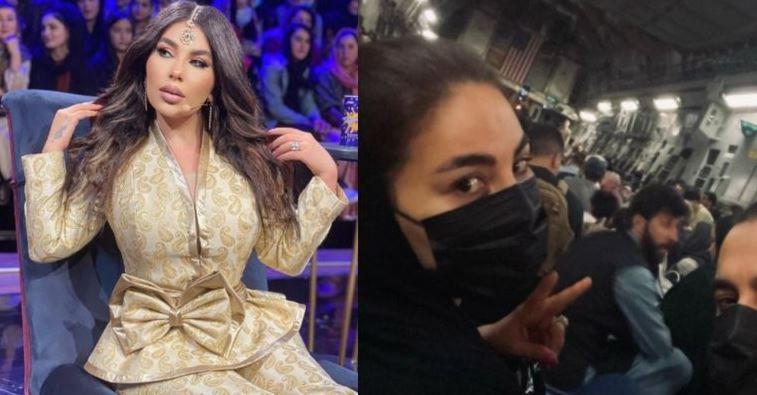 celebridade afegã