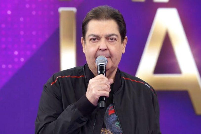 """Fausto Silva no comando do """"Domingão do Faustão"""""""