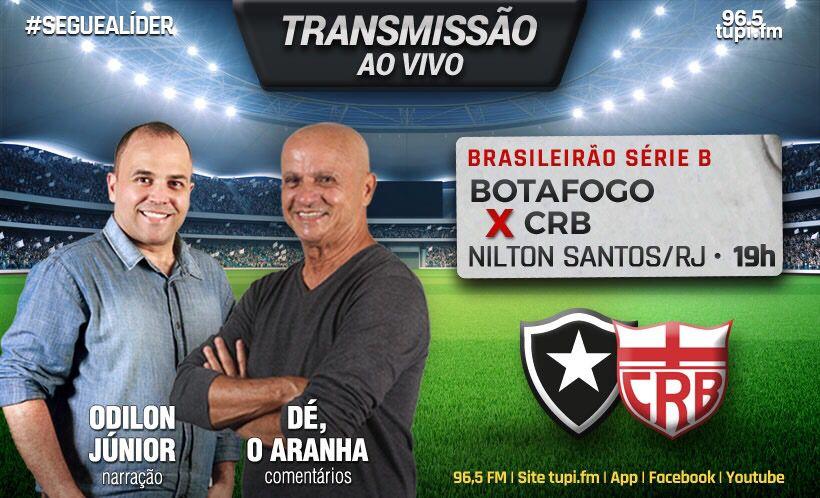 [AO VIVO] Botafogo x CRB - Série B Campeonato Brasileiro