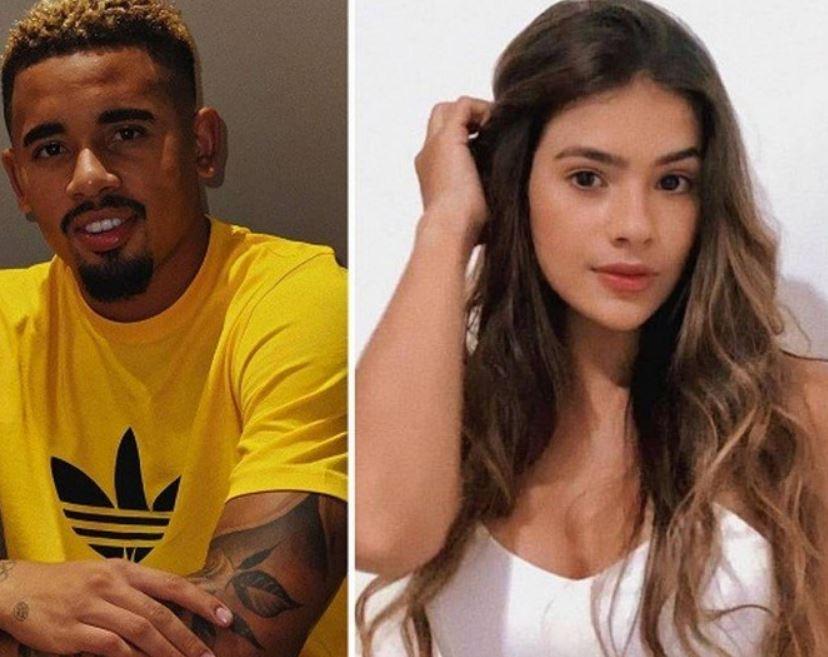 Influencer digital assume namoro com Gabriel Jesus (Reprodução: Instagram)