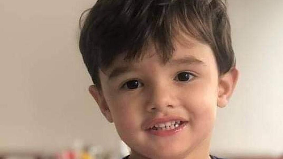 Foto menino Gael morto pela mãe em São Paulo.