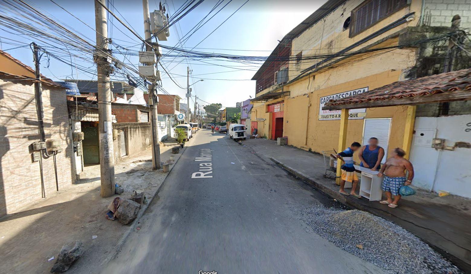 Rua Maruja, Gardênia Azul, Zona Oeste do Rio (Divulgação: Google Maps)