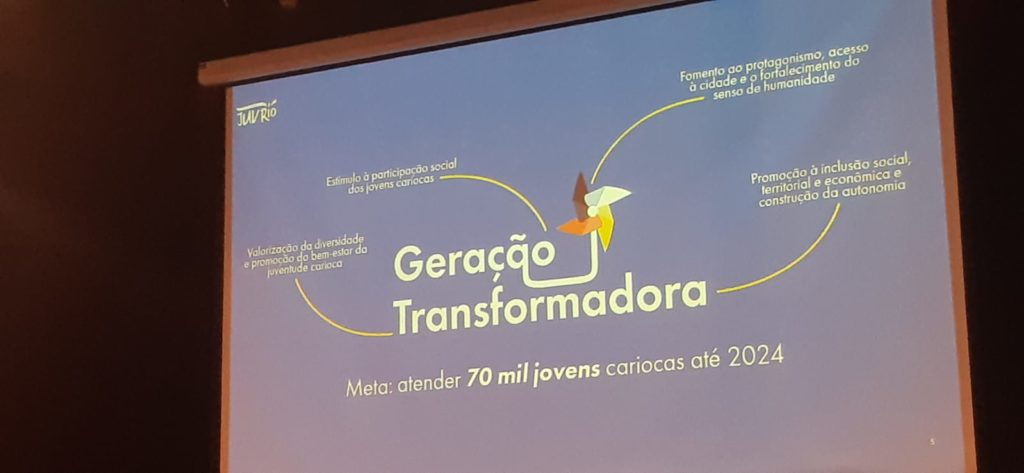Imagem da Logo do Programa da Prefeitura para os jovens