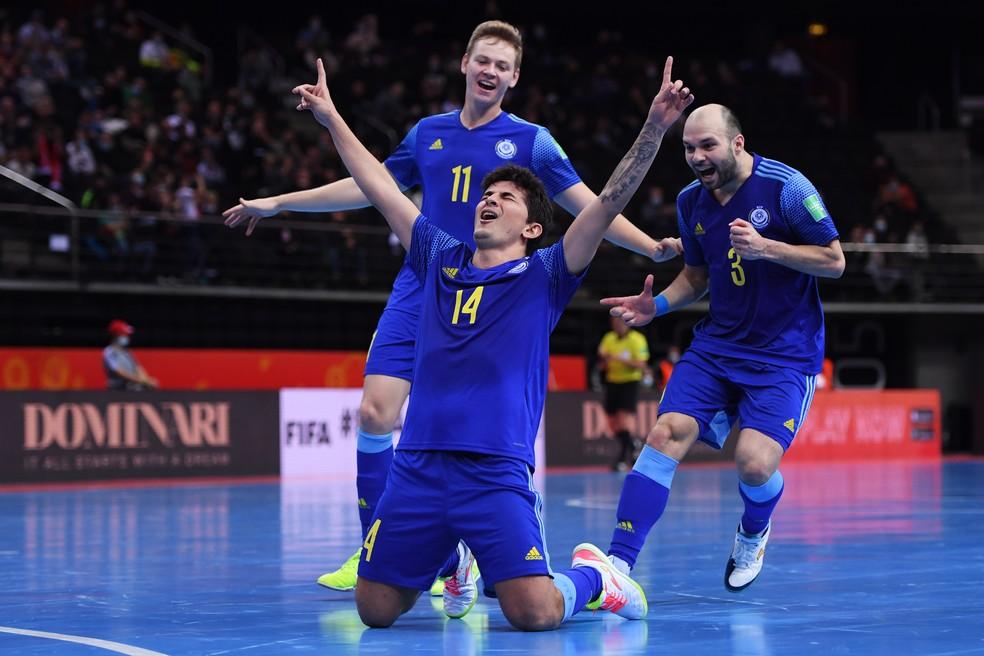 Cazaquistão perde no pênaltis por 4 a 3 para Portugal e disputará terceiro lugar com o Brasil na Copa do Mundo de Futsal