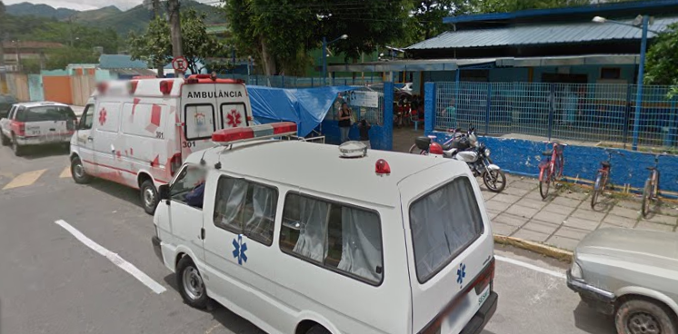 Portaria da Unidade Pré-Hospitalar de Xerém onde Esther foi atendida