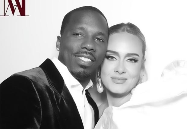 Adele e o namorado