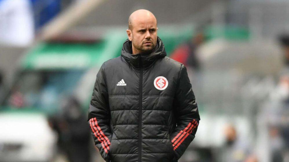 Técnico Miguel Ángel Ramírez no comando do Internacional