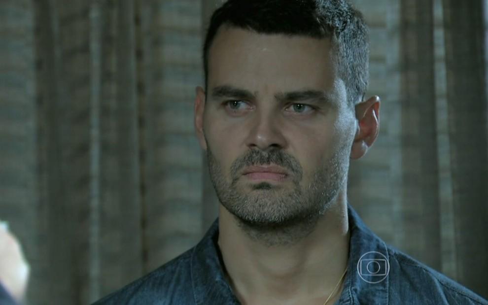Maurílio declarará guerra contra José Alfredo (Divulgação: TV Globo)
