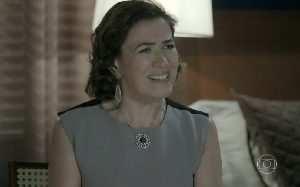 Na imagem, a personagem Maria Marta interpreta pela atriz Lília Cabral