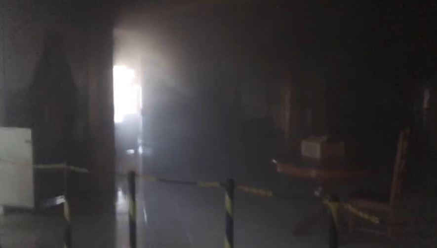 Incêndio atinge igreja Santa Edwiges, em São Cristóvão