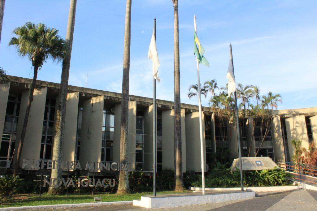 Fachada da Prefeitura de Nova Iguaçu