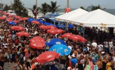 Banda da Barra já está concentrada para o desfile deste domingo