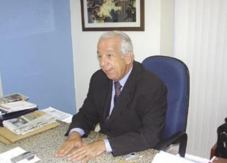 Na imagem, ex-deputado estadual José Tavora