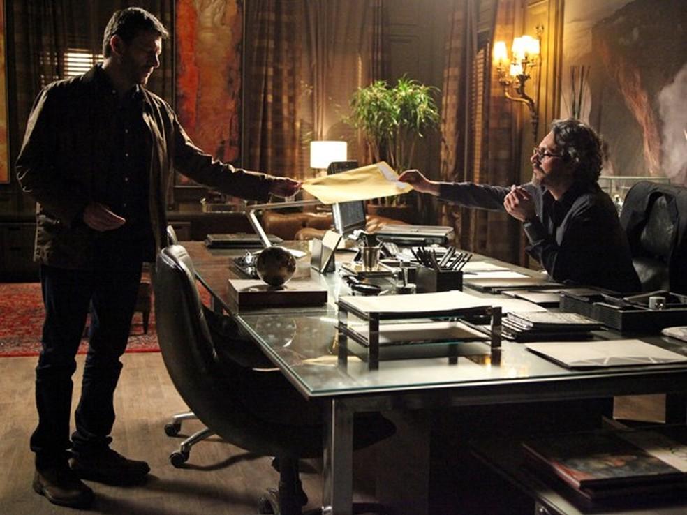 cena da novela império