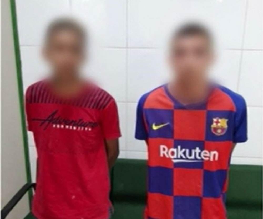 Adolescentes detidos por suspeita de envolvimento na tentativa de homicídio