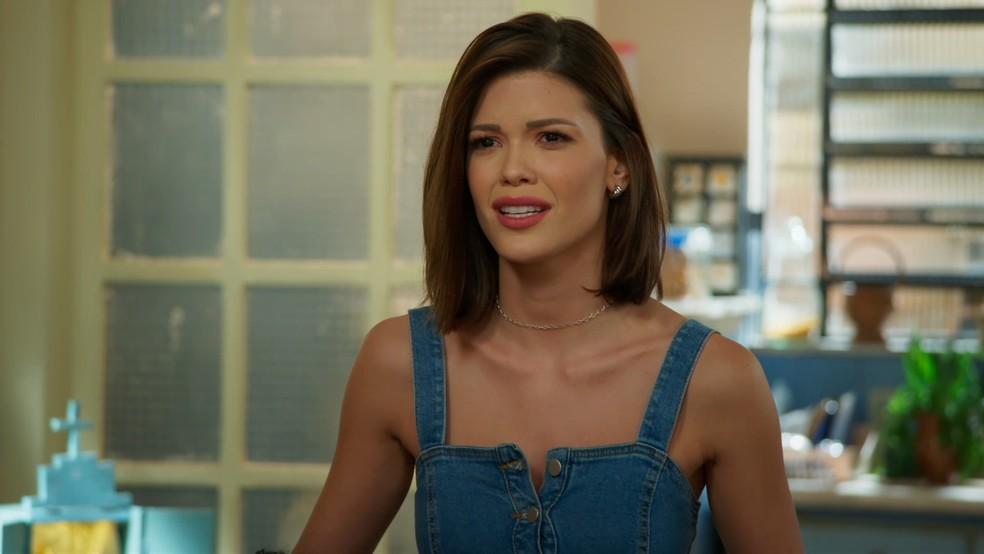 Kyra fica dividida e terá que tomar uma decisão dificil (Reprodução: TV Globo)