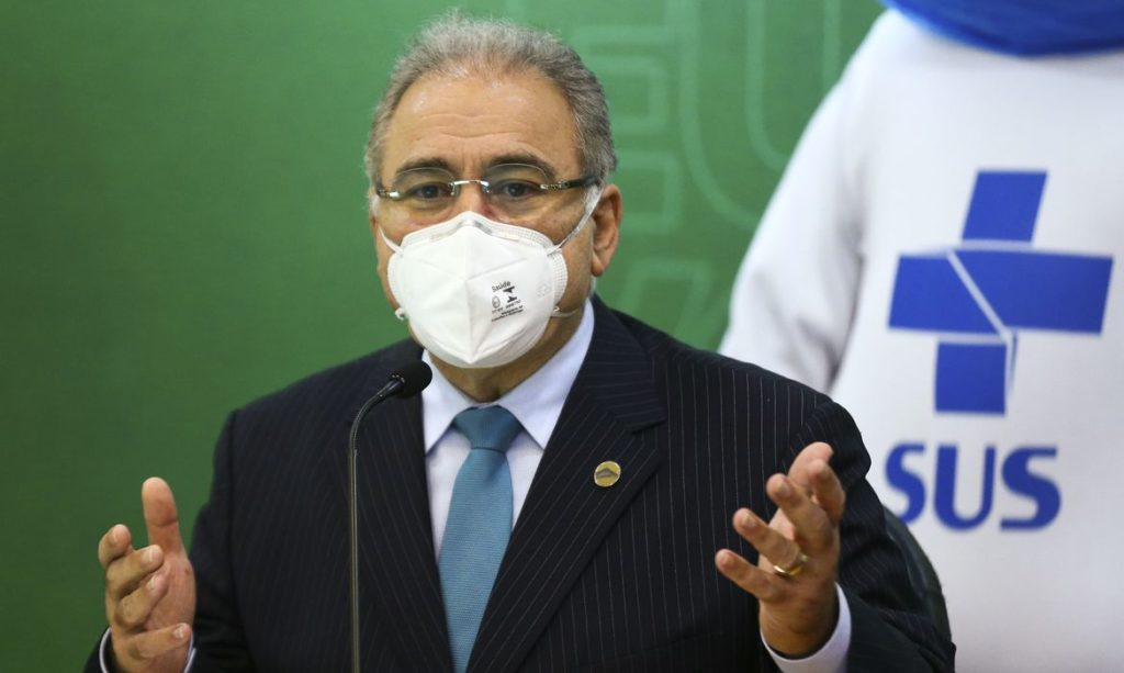 Imagem do Ministro Marcelo Queiroga