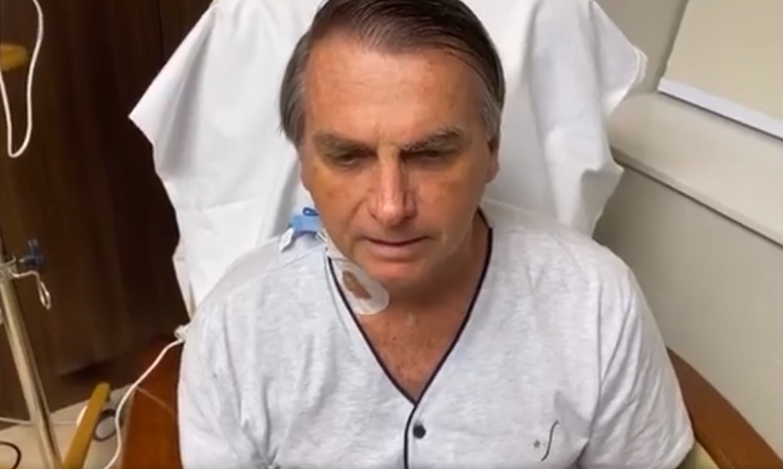 Bolsonaro internado no Hospital Vila Star, em São Paulo