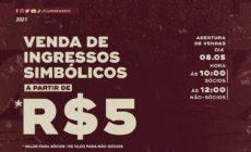 Fluminense anuncia mais uma venda de ingressos simbólicos