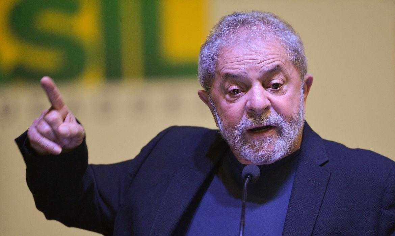 Imagem do ex-presidente Lula