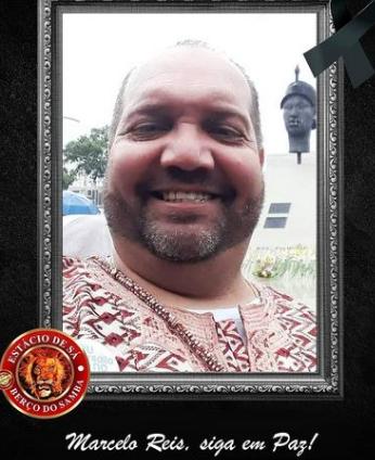 Estácio de Sá posta foto em homenagem a Marcelo Reis