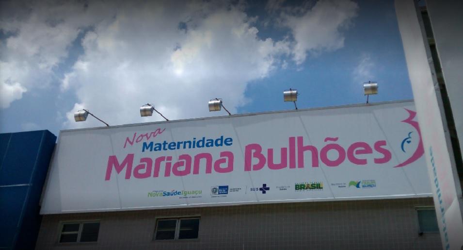 Fachada da Maternidade Mariana Bulhões