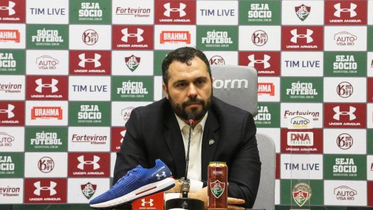 presidente do Fluminense Mario Bittencourt
