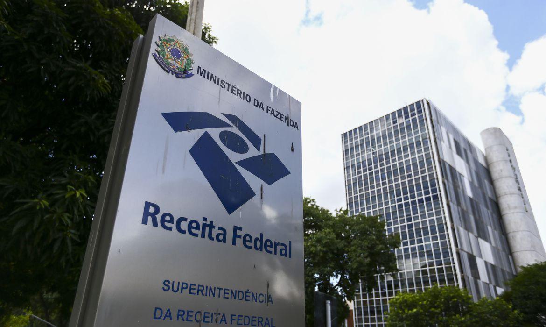 Fachada do prédio da Superintendência da Receita federal, em Brasília