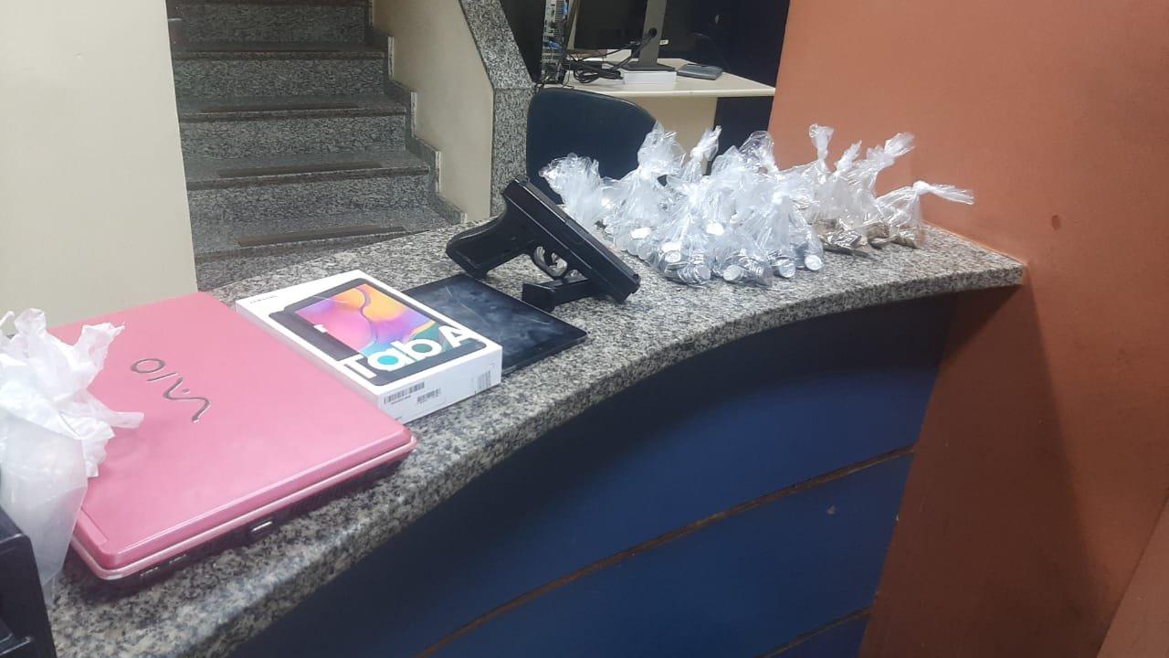 Bandidos presos por tentativa de roubo no McDonalds de Copacabana