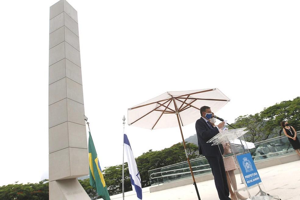 Monumento em homenagem às vítimas do Holocausto