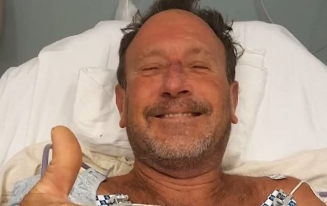 Michael Packard, mergulhador profissional engolido por uma baleia nos EUA